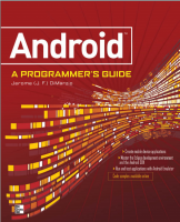 Android A Programmer's Guide