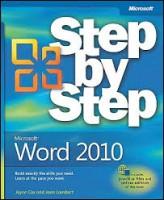 EBook Step by Step Word 2010