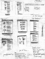 Hướng dẫn phát thảo Layout Website trên giấy
