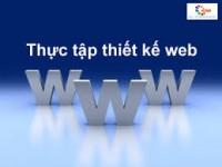 Thực tập thiết kế Web